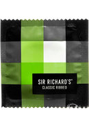 Sir Richards Classic Ribbed Textured Latex Condoms 3 Each...