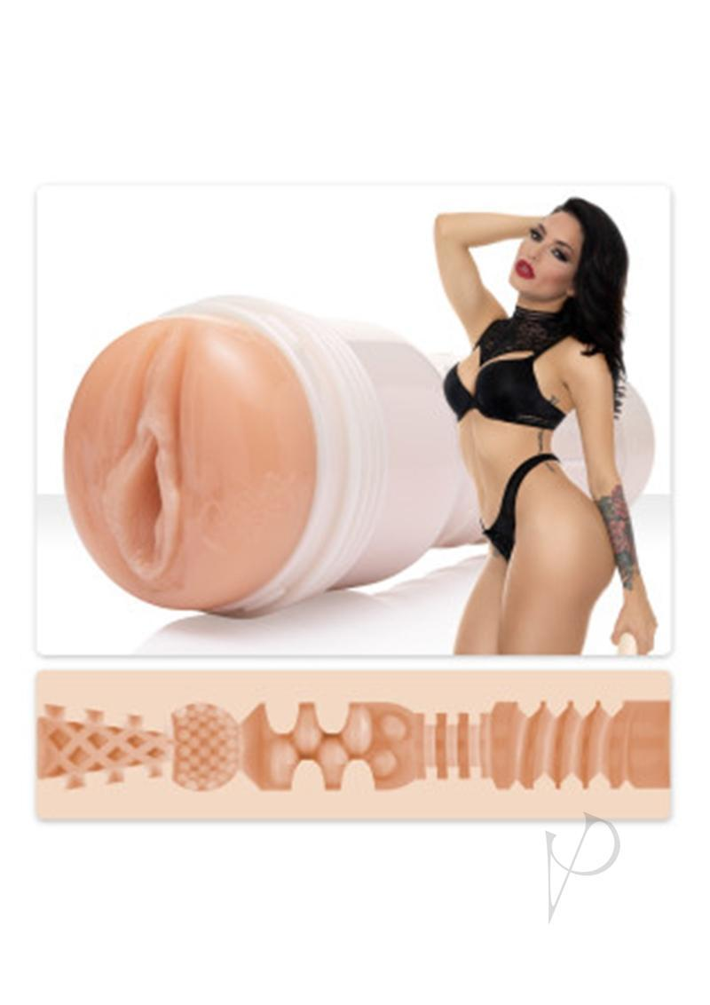 Fleshlight Kissa Sins Insatiable Pussy Masturbator Textured Non Vibrating